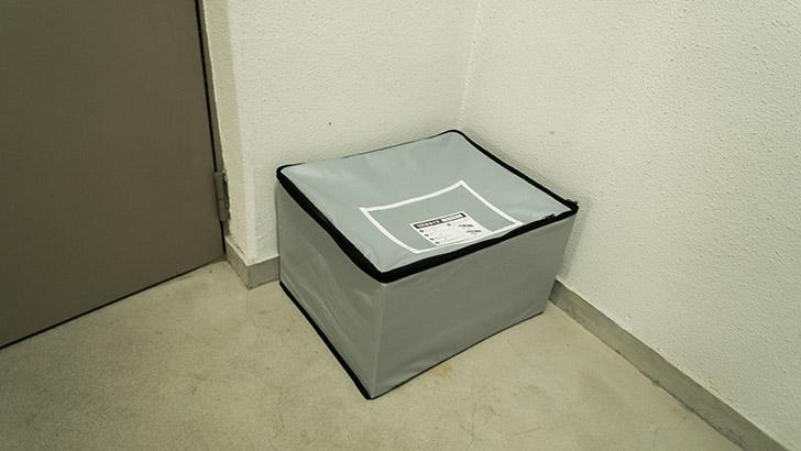 宅配ボックスの写真