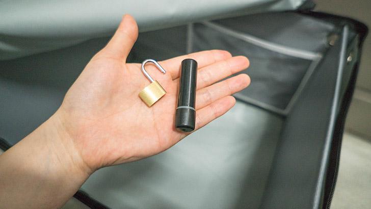 宅配ボックスの鍵