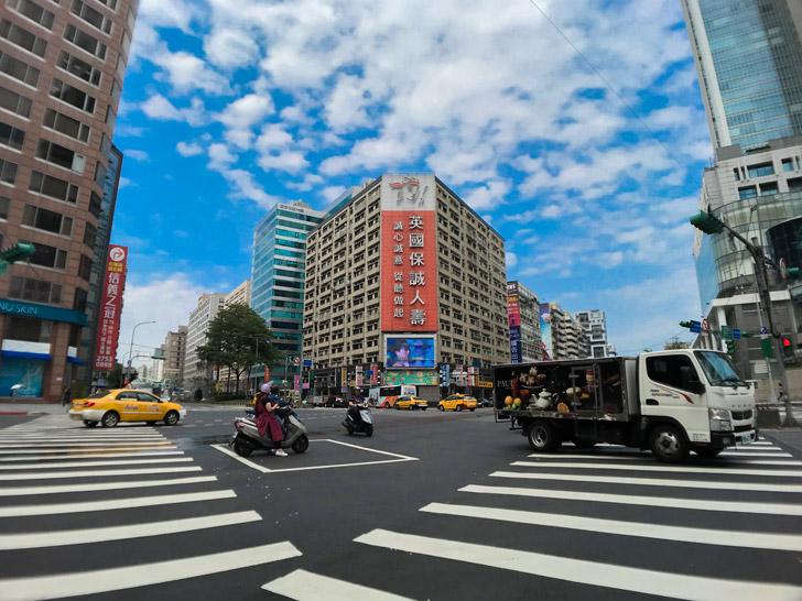 台湾の街中