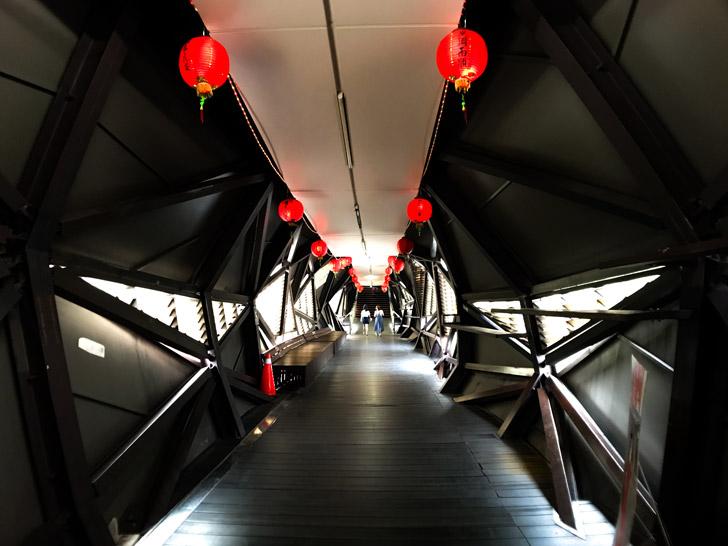 台湾の猫村の駅