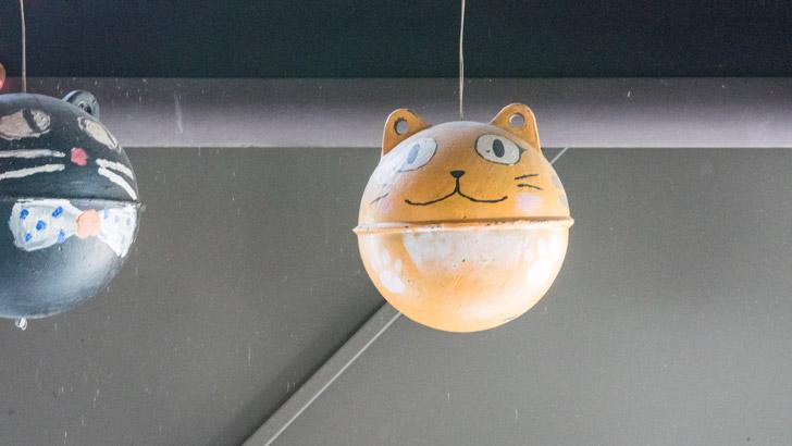 猫村の猫の飾り