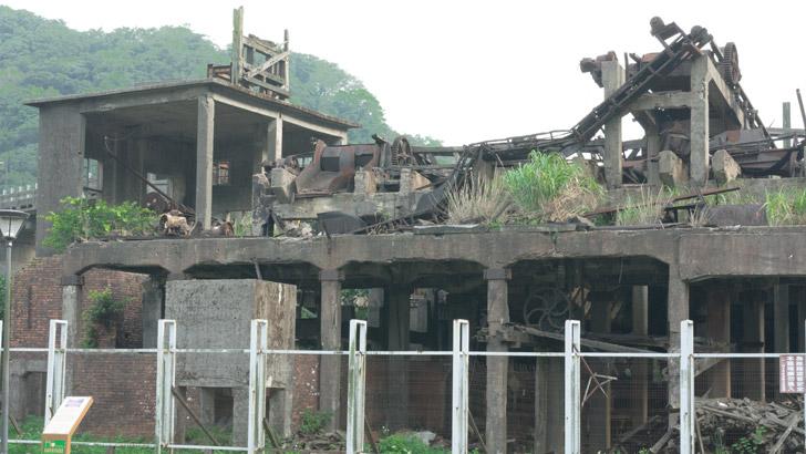 台湾の猫村の景色