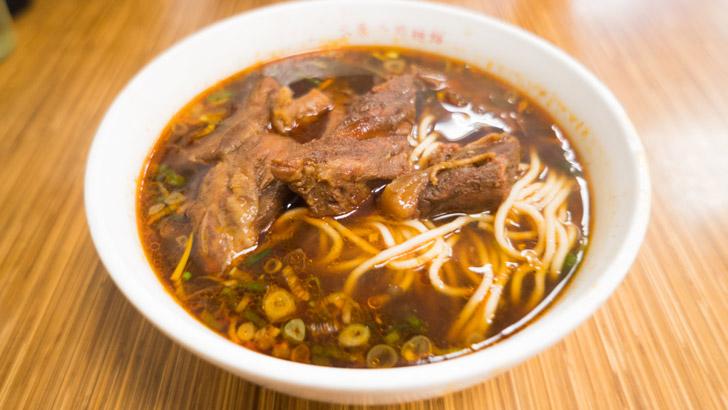 台湾の牛肉麺
