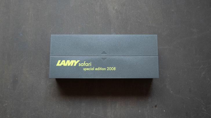 LAMYの2008限定