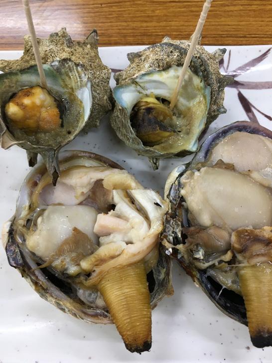 とれとれ市場の貝