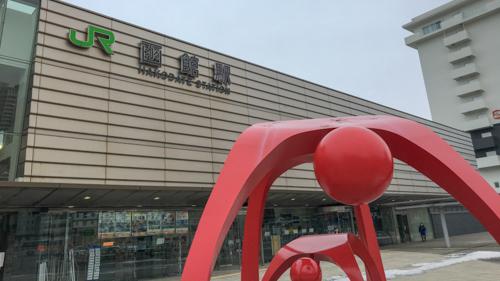 函館駅の正面
