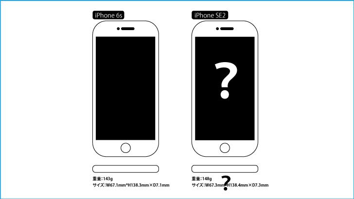 iPhoneSE2比較